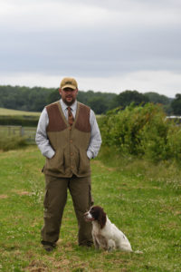 James Reavil, gundog trainer Kent